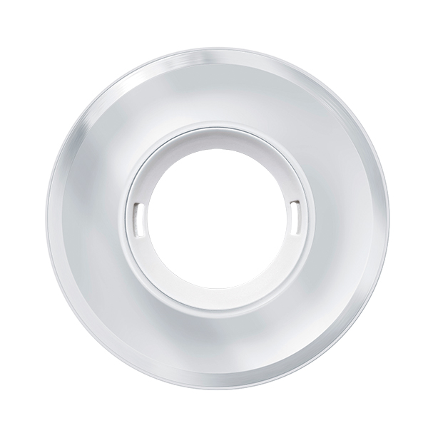 Cover FLAT series GLASS ROUND WHITE cover