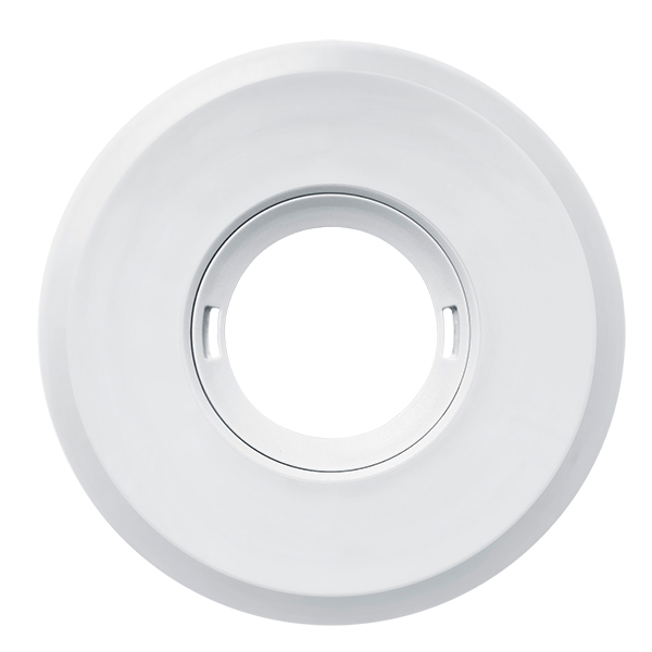 Cover LARGE FLAT series ROUND WHITE